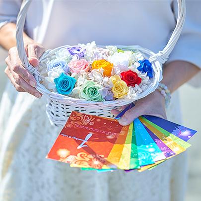 あなた色*自愛の扉をひらく  あなたのココロを咲かせる  フラワリーカウンセリングのイメージ