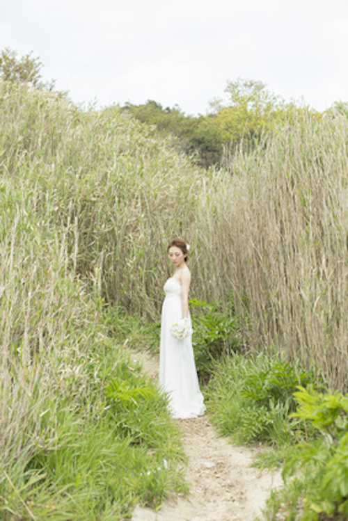 海岸の花嫁